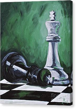 Checkmate Canvas Print by Herschel Fall