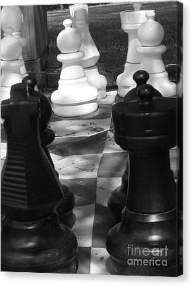 Checkmate Canvas Print by Jennifer Sabir