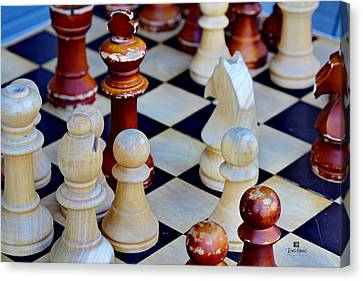 Checkmate Canvas Print