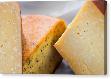 Cheese Display Canvas Print by Tony Grider