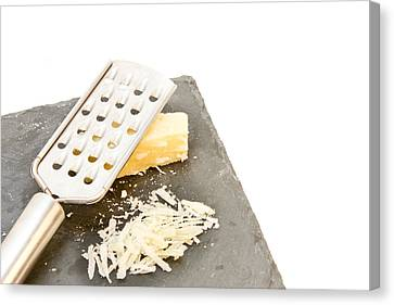 Cheese Grater Canvas Print by Tom Gowanlock