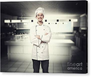 Chef Portrait Canvas Print