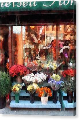 Chelsea Flower Shop Canvas Print