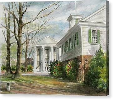 Cheraw Town Hall Canvas Print by Gloria Turner