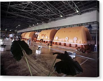Chernobyl Turbine Generators Canvas Print by Ria Novosti