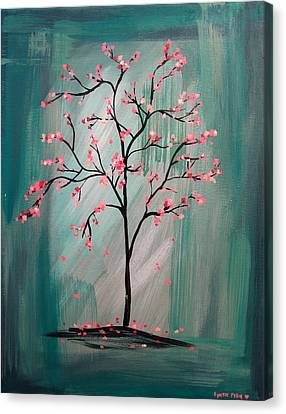 Cherry Blossom Canvas Print by Lynsie Petig