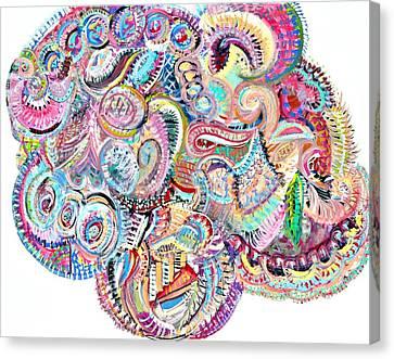 Cherubim Beryl Canvas Print