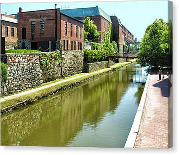 Chesapeake And Ohio Canal I Canvas Print by Steven Ainsworth