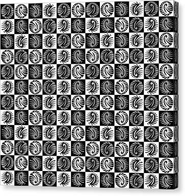 Chess Board Canvas Print by Sumit Mehndiratta