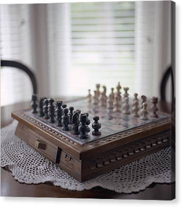 Chess Canvas Print by Images Copyright Micah McCoy