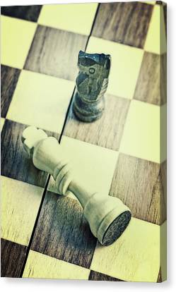 Chess Canvas Print by Joana Kruse