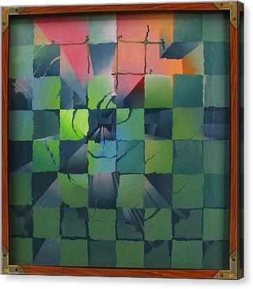 Chesscape 1975 Canvas Print by Glenn Bautista