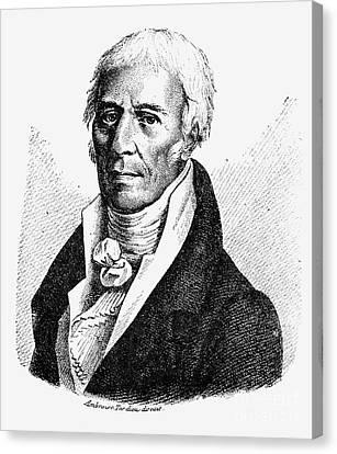 Chevalier De Lamarck Canvas Print by Granger
