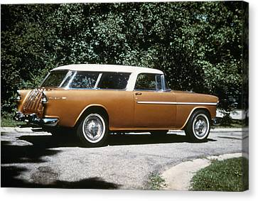 Chevrolet, 1957 Canvas Print by Granger