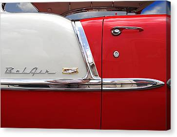 Chevy Belair Classic Trim Canvas Print