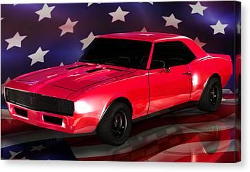 Chevy Camaro Intimidator Canvas Print