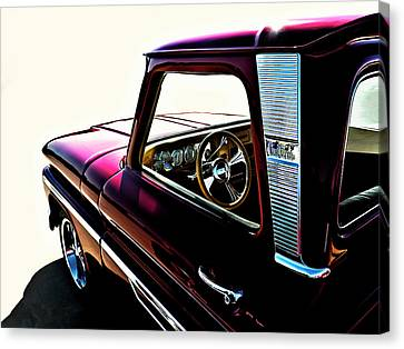Custom Canvas Print - Chevy Pickup by Douglas Pittman