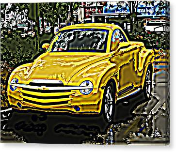 Chevy Ssr Pickup Canvas Print by Samuel Sheats