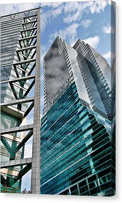 Abn Canvas Print - Chicago - A Sophisticated Finance Hub by Christine Till