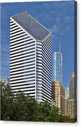 Chicago Crain Communications Building - Former Smurfit-stone Canvas Print