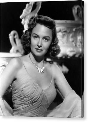 Chicago Deadline, Donna Reed, 1949 Canvas Print by Everett