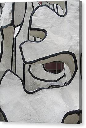 Chicago Dubuffet-1 Canvas Print by Todd Sherlock