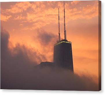 Chicago Dusk Canvas Print