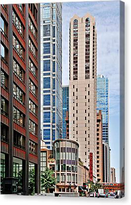 Chicago - Goodman Theatre Canvas Print by Christine Till