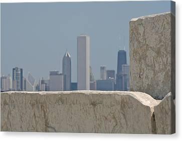 Chicago Canvas Print by Odd Jeppesen