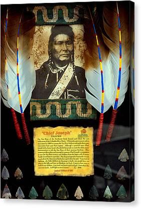 Chief Joseph Canvas Print