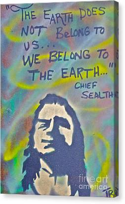 Chief Sealth Canvas Print by Tony B Conscious