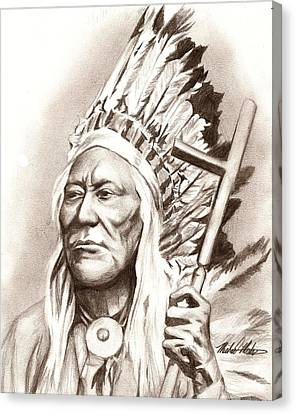 Chief Washakie Canvas Print