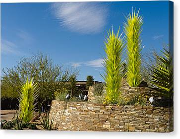 Chihuly In Arizona Canvas Print by Jim Gilbert