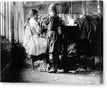 Child Labor Canvas Print by Omikron