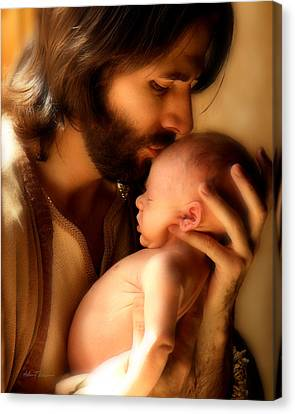 Child Of God Canvas Print