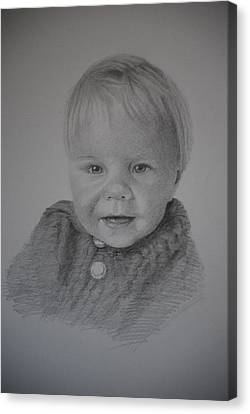 Child Portrait Canvas Print