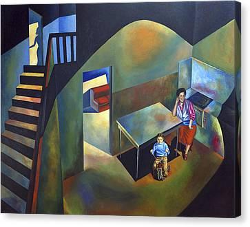 Childhood House Canvas Print by Fernando Alvarez