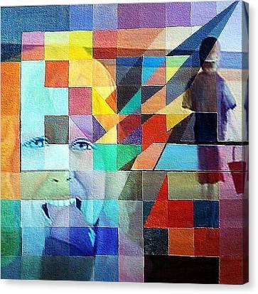 Childhood Canvas Print by Susan  Solak