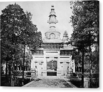 China: Cenotaph, C1900 Canvas Print by Granger