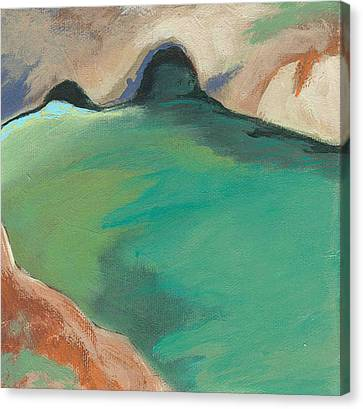 China Cove Canvas Print by Laurel Porter-Gaylord