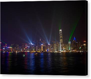 China-hong Kong Canvas Print by Mark Simons Photography