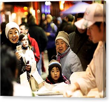 Canvas Print featuring the photograph Chinese New Year by David Harding