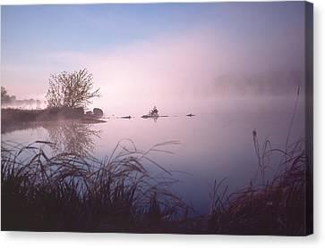Chippewa River At Dawn Canvas Print