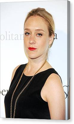 Metropolitan Opera House At Lincoln Center Canvas Print - Chloe Sevigny At Arrivals by Everett
