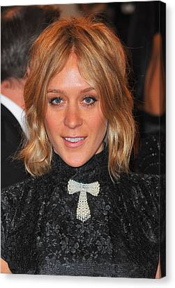 Chloe Sevigny At Arrivals For Alexander Canvas Print