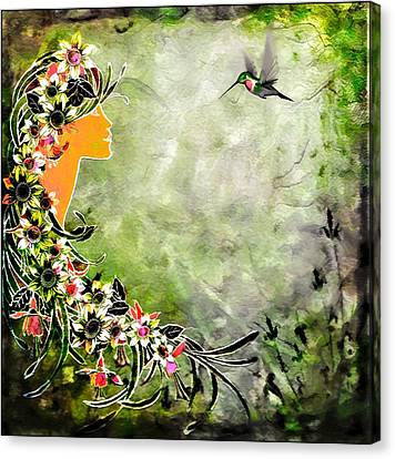 Chloris Canvas Print