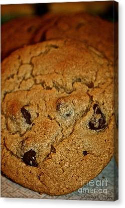 Chocolate Chip Comfort Canvas Print