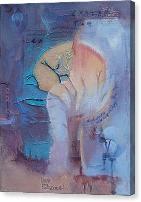 Choose Canvas Print by Joanna Gates
