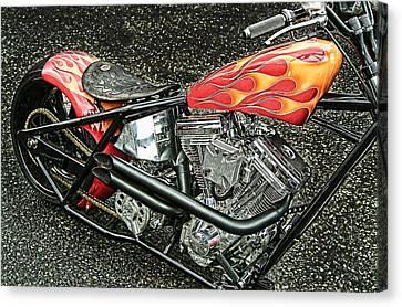 Chopper Canvas Print by Mauro Celotti