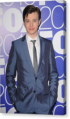 Chris Colfer In Attendance For Fox 2010 Canvas Print by Everett